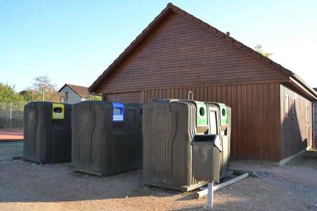 recyclage, containers, tri sélectif, tri-sélectif estivareilles 03190