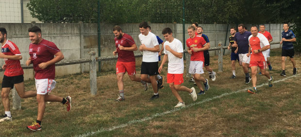 Reprise entrainement CSVE 2019 Estivareilles