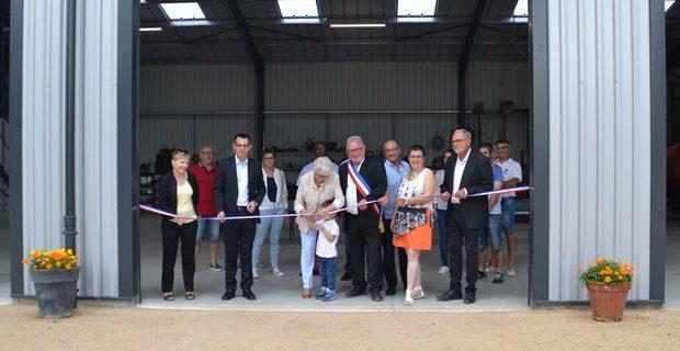inauguration ateliers municipaux