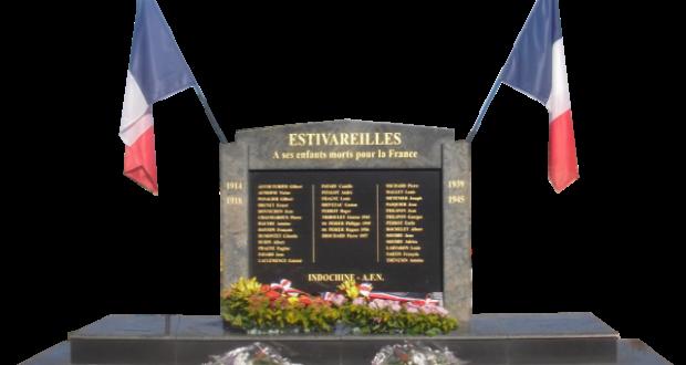 Monument aux mort estivareilles 03190