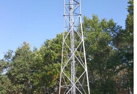 Antenne de téléphonie ORANGE à Estivareilles 03190