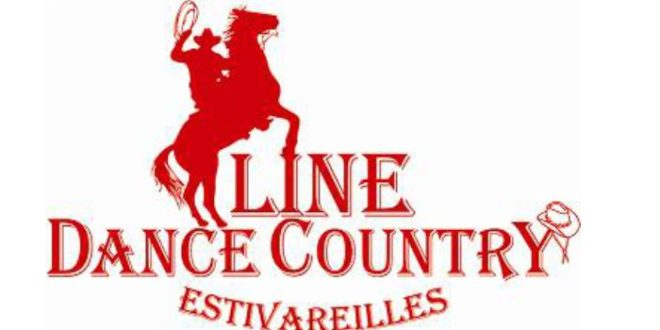 Logo line dance country couleur