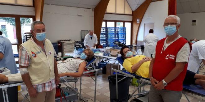 Don de sang du 17 aout 2020